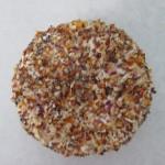 Frais graines de pavot, graines de sésame, tomate et échalote